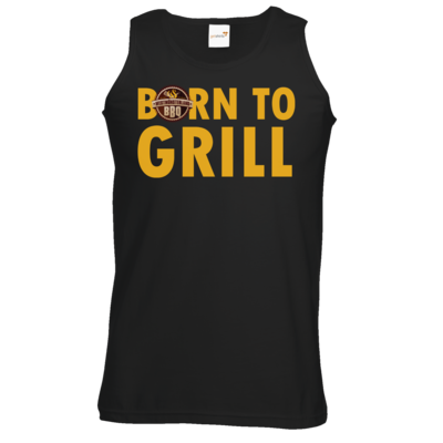 Motiv: Athletic Vest - Born to grill