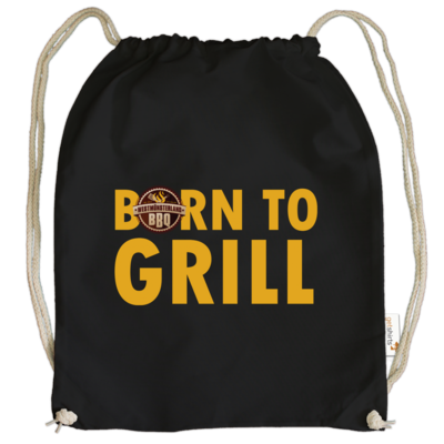 Motiv: Cotton Gymsac - Born to grill