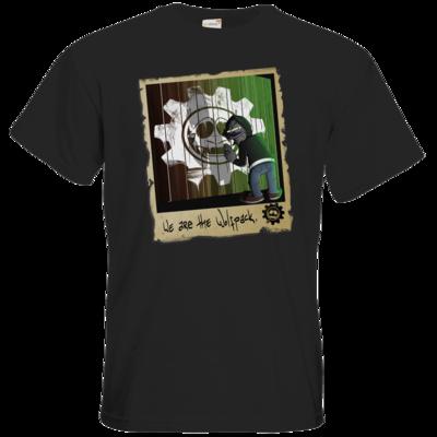Motiv: T-Shirt Premium FAIR WEAR - We are the Wolfpack