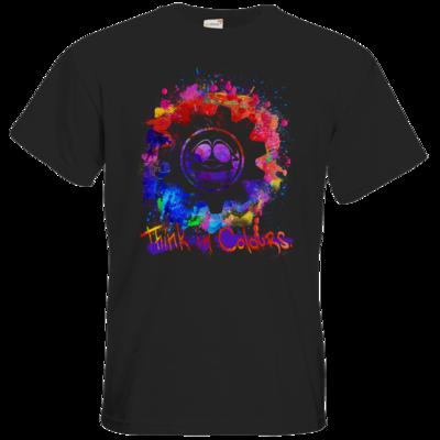 Motiv: T-Shirt Premium FAIR WEAR - Think In Colours.