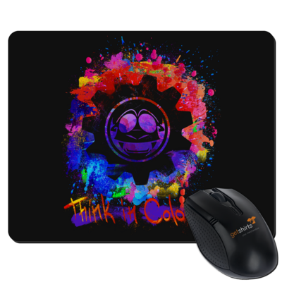 Motiv: Mousepad Textil - Think In Colours.