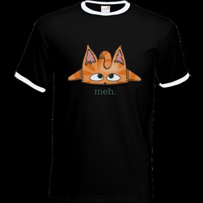 Motiv: T-Shirt Ringer - Meh.