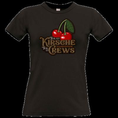 Motiv: T-Shirt Damen Premium FAIR WEAR - Kirsche und Crews