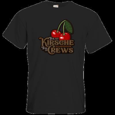 Motiv: T-Shirt Premium FAIR WEAR - Kirsche und Crews
