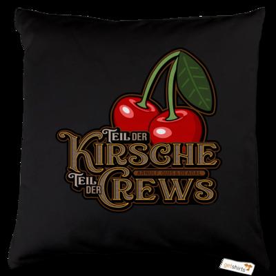 Motiv: Kissen Baumwolle - Kirsche und Crews