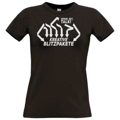 Motiv: T-Shirt Damen Premium FAIR WEAR - Kreative Blitzpakete