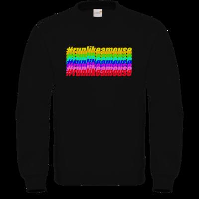 Motiv: Sweatshirt FAIR WEAR - Hashtag Color