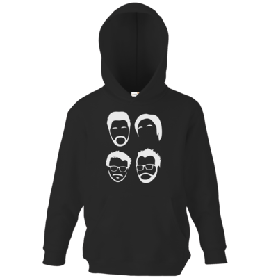 Motiv: Kids Hooded Sweat - Eine haarige Angelegenheit
