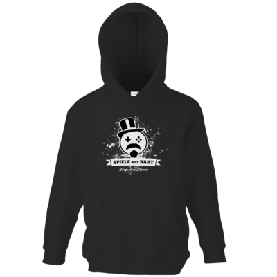 Motiv: Kids Hooded Sweat - Spiele mit Bart