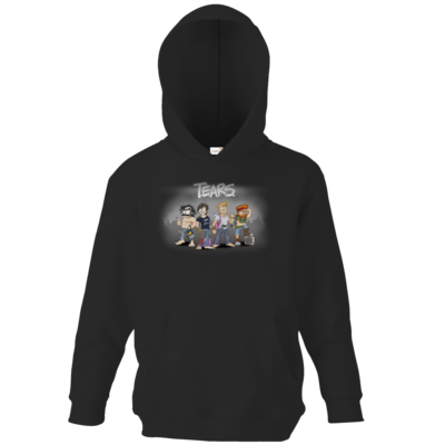Motiv: Kids Hooded Sweat - Pen & Paper - TEARS