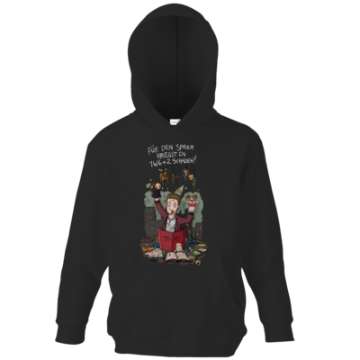 Motiv: Kids Hooded Sweat - Pen &  Paper - TEARS - Spielleiter