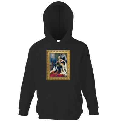 Motiv: Kids Hooded Sweat - Verflixxte Klixx - Geierkoenig