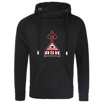 Motiv: Cross Neck Hoodie - ASK Wappen