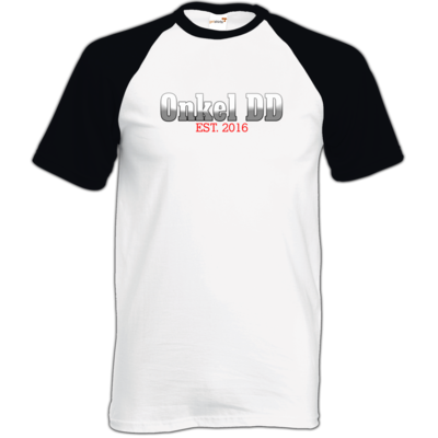 Motiv: TShirt Baseball - Logo