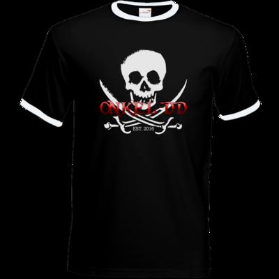 Motiv: T-Shirt Ringer - Pirat