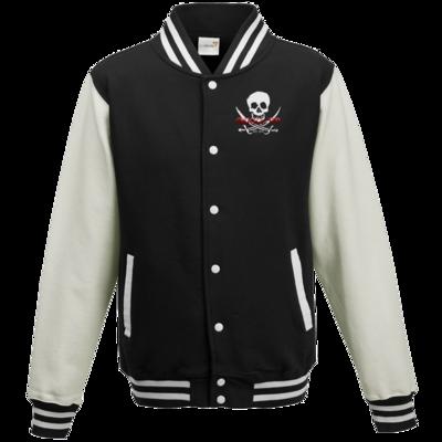 Motiv: College Jacke - Pirat
