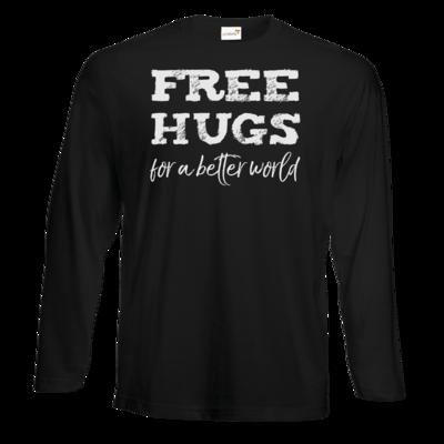 Motiv: Exact 190 Longsleeve FAIR WEAR - Free Hugs #01
