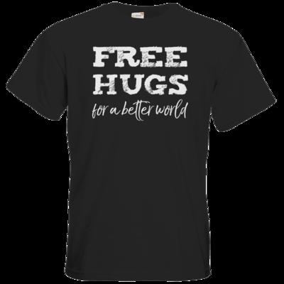 Motiv: T-Shirt Premium FAIR WEAR - Free Hugs #01