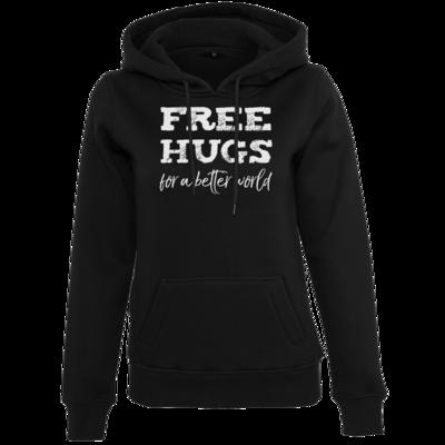 Motiv: Womens Heavy Hoody - Free Hugs #01