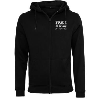 Motiv: Heavy Zip-Hoodie - Free Hugs #01