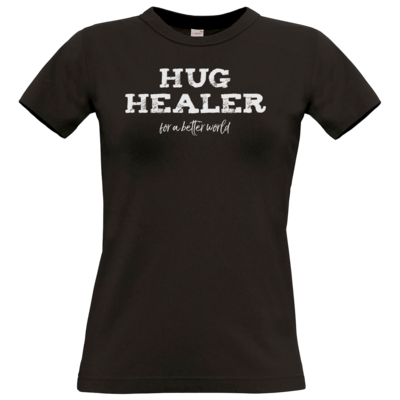 Motiv: T-Shirt Damen Premium FAIR WEAR - Hug Healer #01