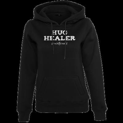 Motiv: Womens Heavy Hoody - Hug Healer #01