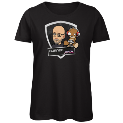 Motiv: Organic Lady T-Shirt - BurnedMinze
