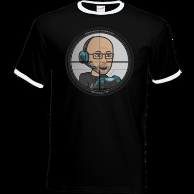 Motiv: T-Shirt Ringer - BurnedScopeStreamer