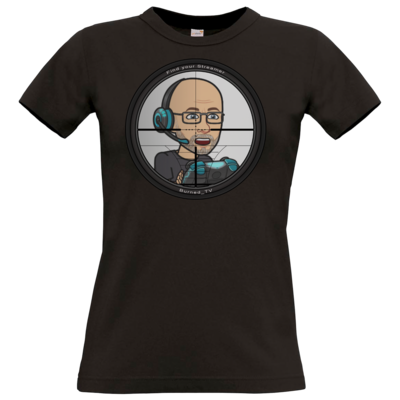Motiv: T-Shirt Damen Premium FAIR WEAR - BurnedScopeStreamer