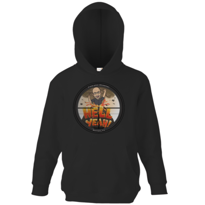 Motiv: Kids Hooded Sweat - BurnedHellScope