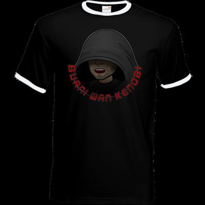Motiv: T-Shirt Ringer - BurniWanKenobi