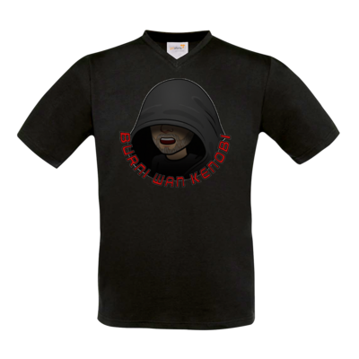 Motiv: T-Shirt V-Neck FAIR WEAR - BurniWanKenobi