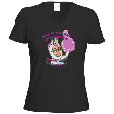 Motiv: T-Shirt Damen V-Neck Classic - Uniburned