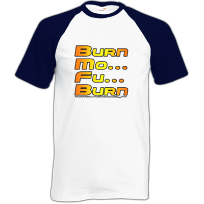 Motiv: Baseball-T FAIR WEAR - BurnMoFu
