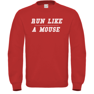 Motiv: Sweatshirt FAIR WEAR - Run Like A Mouse - Retro