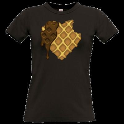 Motiv: T-Shirt Damen Premium FAIR WEAR - bakacrHerz