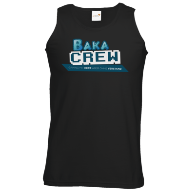 Motiv: Athletic Vest - BakaCrew Logo mit Claim
