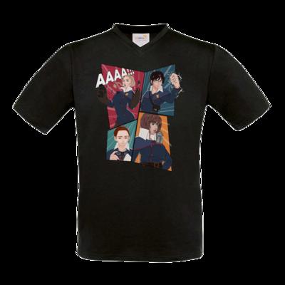 Motiv: T-Shirt V-Neck FAIR WEAR - Thabor Comic