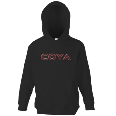 Motiv: Kids Hooded Sweat - Coya Logo