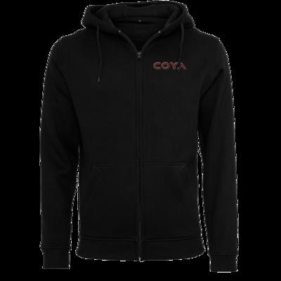 Motiv: Heavy Zip-Hoodie - Coya Logo