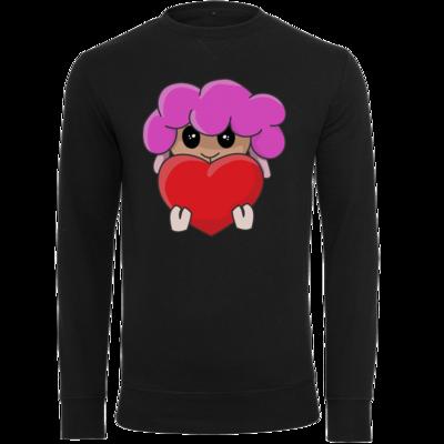 Motiv: Light Crew Sweatshirt - Perückenliebe