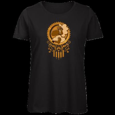 Motiv: Organic Lady T-Shirt - diePhantas Logo