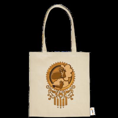Motiv: Baumwolltasche - diePhantas Logo