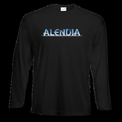 Motiv: Exact 190 Longsleeve FAIR WEAR - Alendia Logo Blau