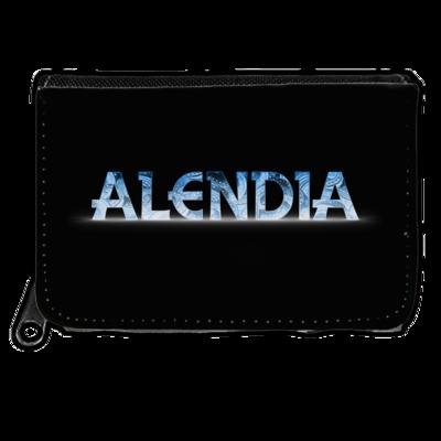 Motiv: Geldboerse - Alendia Logo Blau