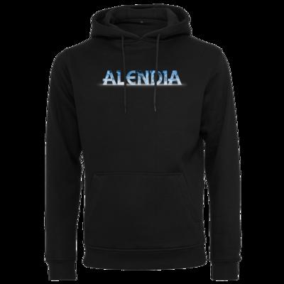 Motiv: Heavy Hoodie - Alendia Logo Blau