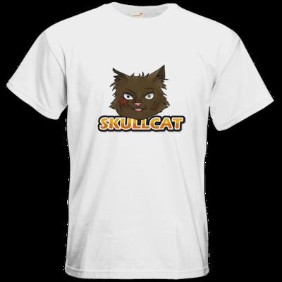 Motiv: T-Shirt Premium FAIR WEAR - Skullcat-Logo