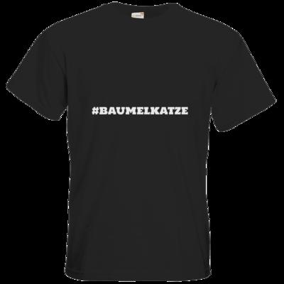 Motiv: T-Shirt Premium FAIR WEAR - Hash Baumelkatze