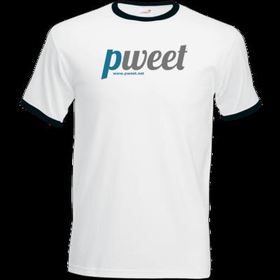 Motiv: T-Shirt Ringer - Pweet Logo 1