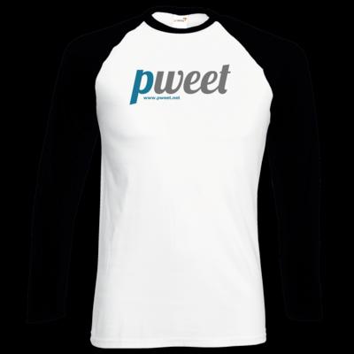 Motiv: Longsleeve Baseball T - Pweet Logo 1